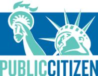 Public Citizen organization logo