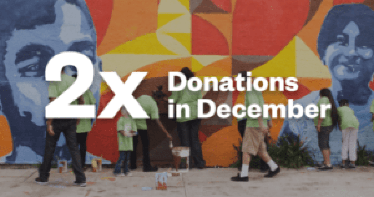 CREDO double donations in December
