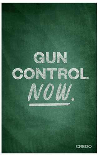 March for Our Lives protest poster – anti NRA