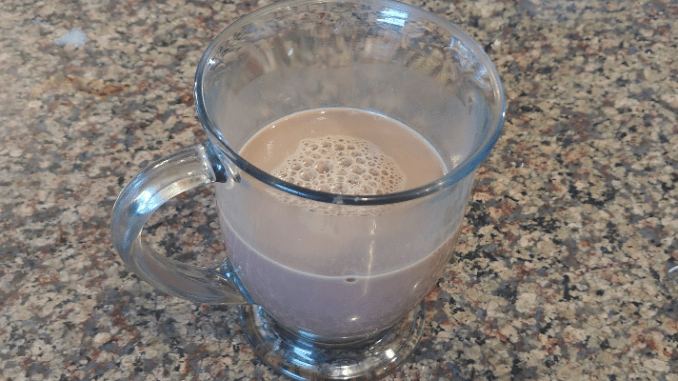 Homemade Chocolate Milk