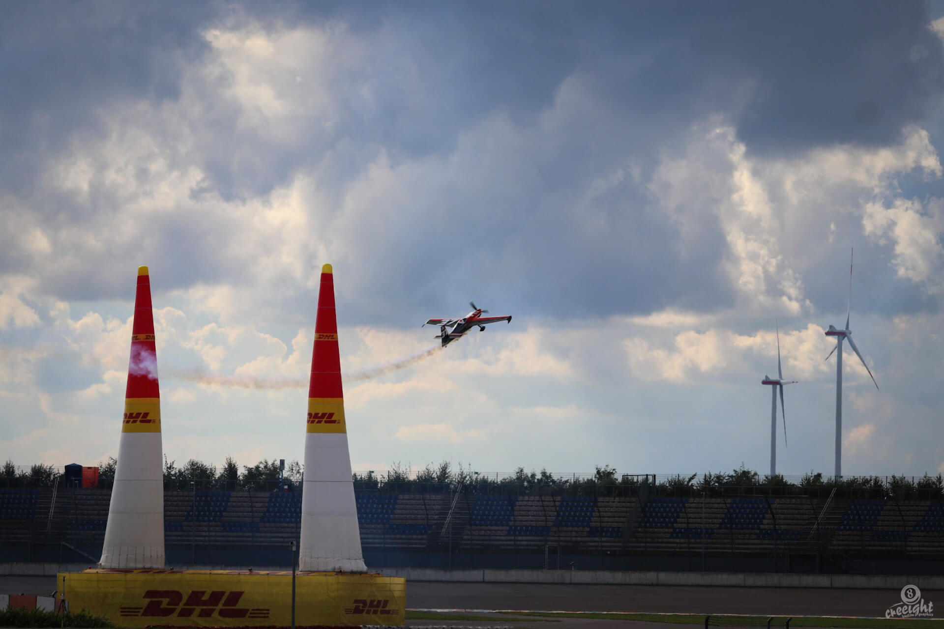 Peter Podlunsek, Red Bull Air Race 2017, Lausitzring