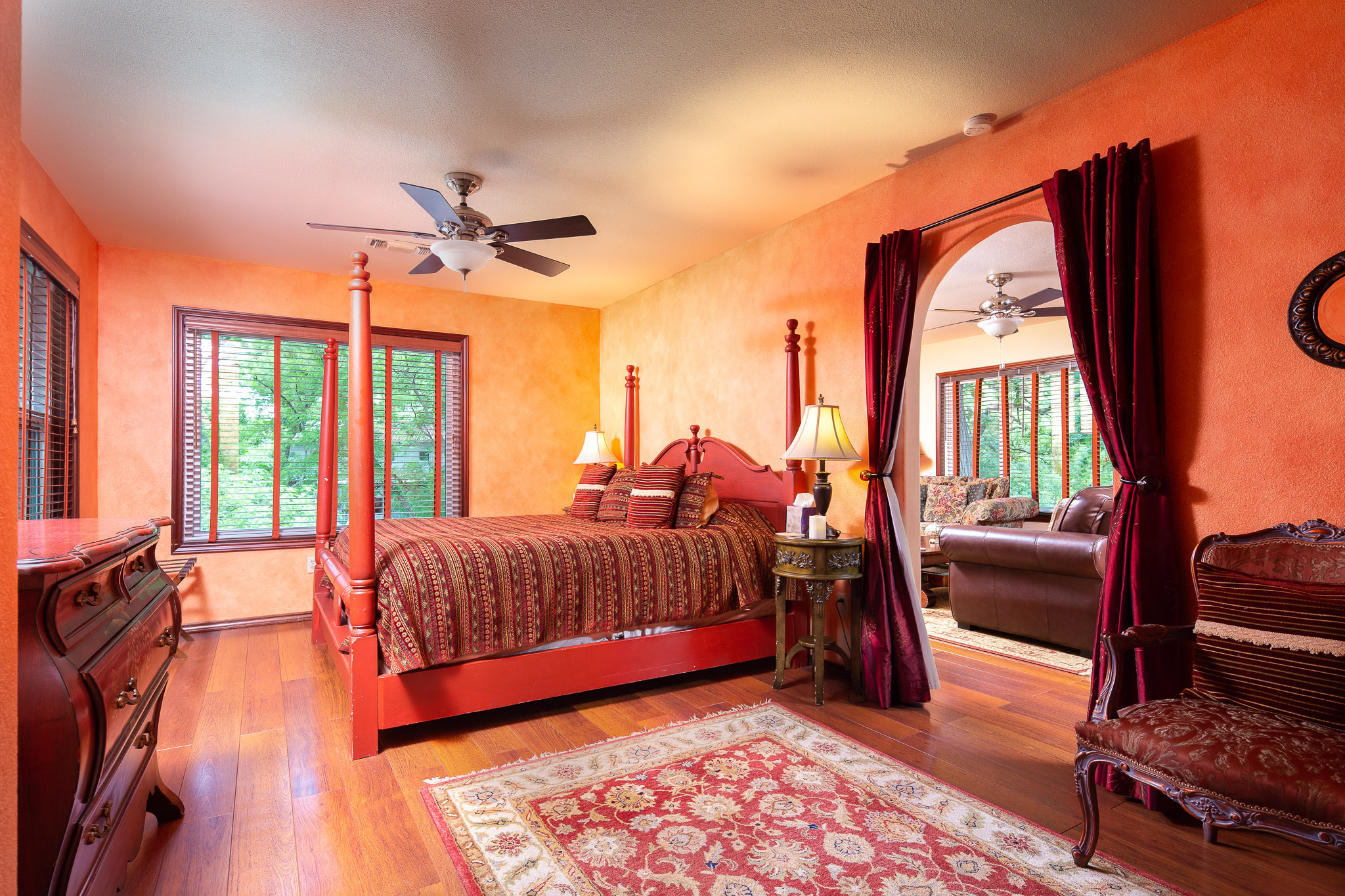 Texas Hill Country Bed & Breakfast on Cypress Creek in