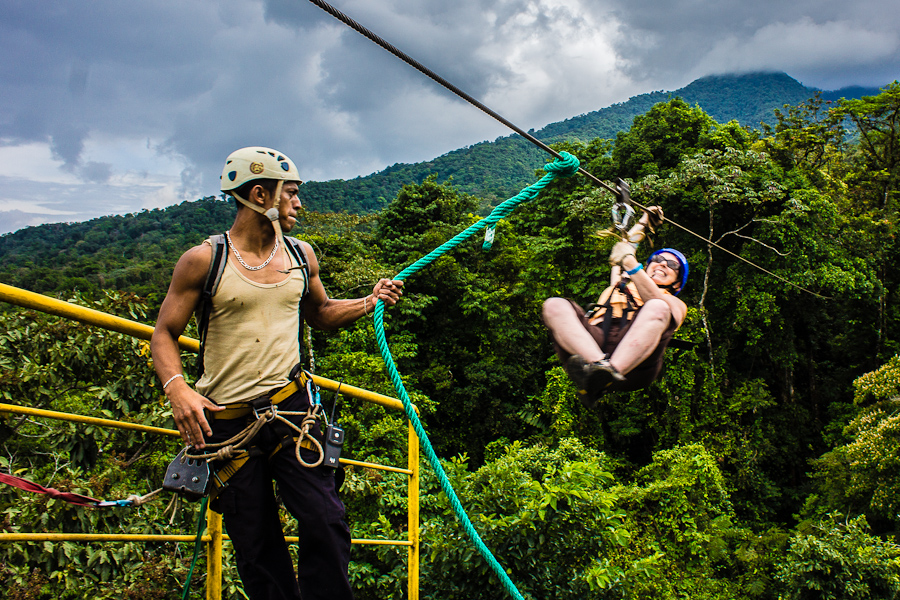Costa Rica Zip Line In Arenal La Fortuna It S A