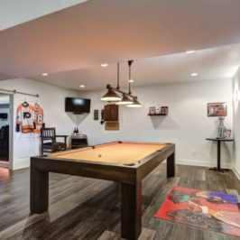wine country remodel - basement