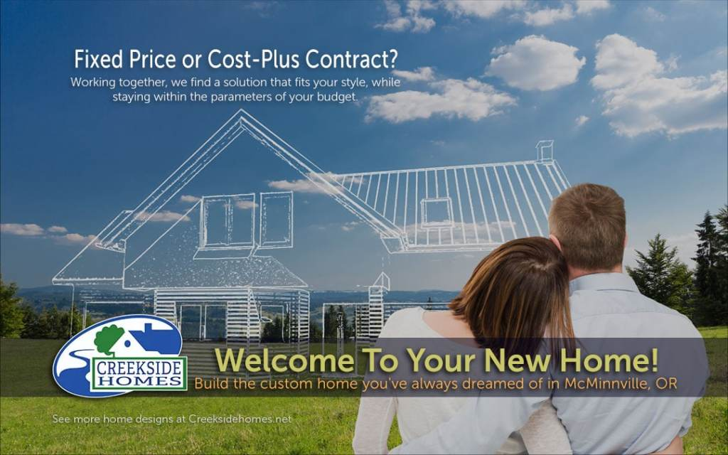 new home construction pricing oregon