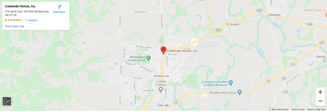 Google Maps location
