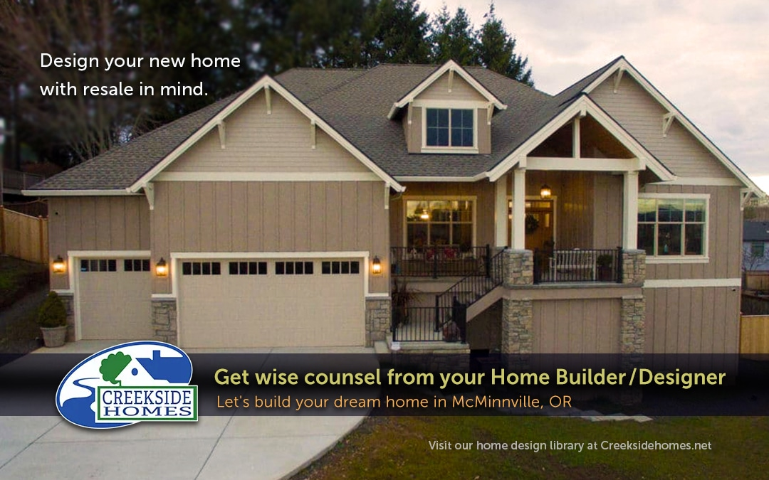 Design Your New Home With Resale in Mind