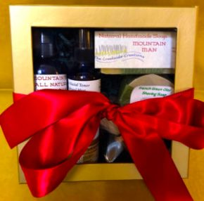 love of your life, mountain man gift set, organic skin products