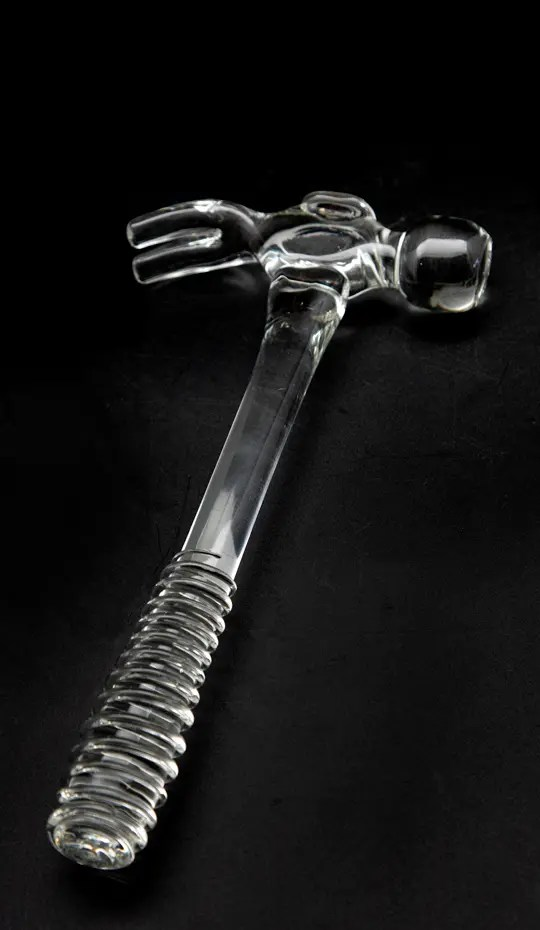 Glass Hammer, Handblown - Hand blown in the USA