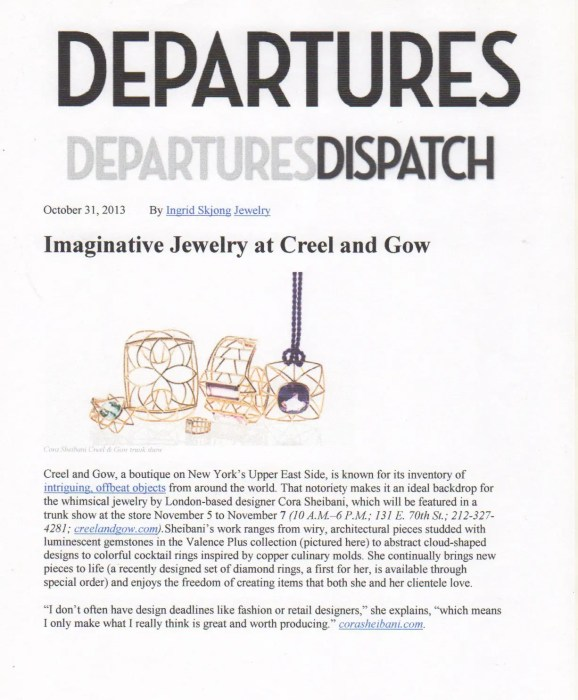 Departures Dispatch