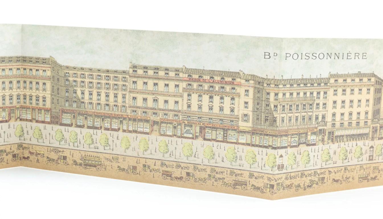 Illustration of the boulevard des poissonières