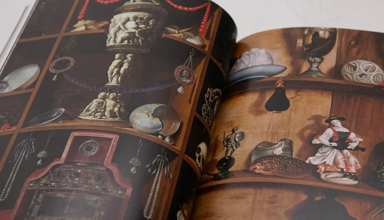 book cabinets of curiousities