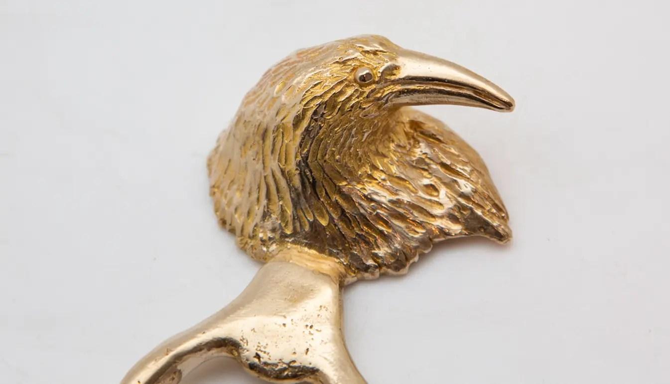 Raven-bottle-opener