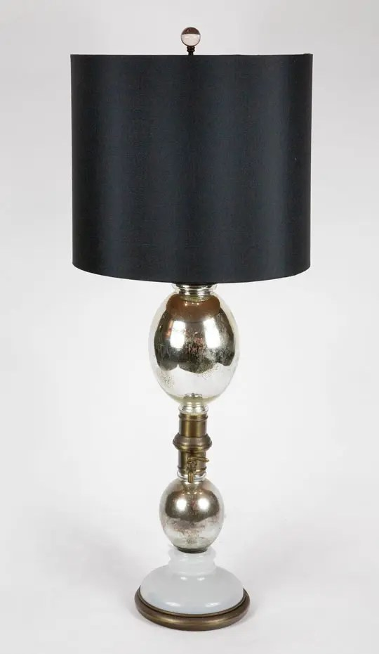 mercury-glass-lamp-black-shade