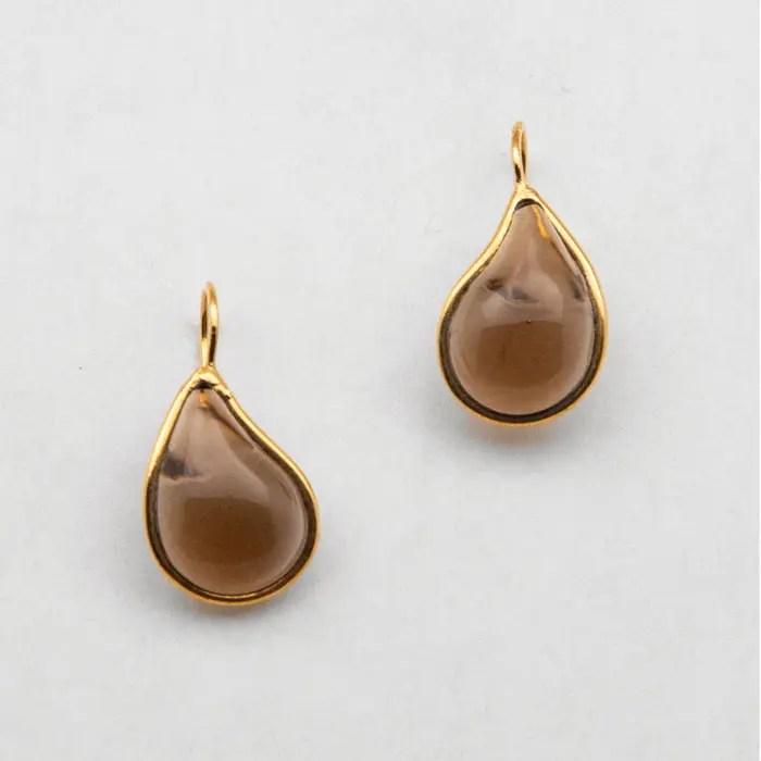brown-drop-earring