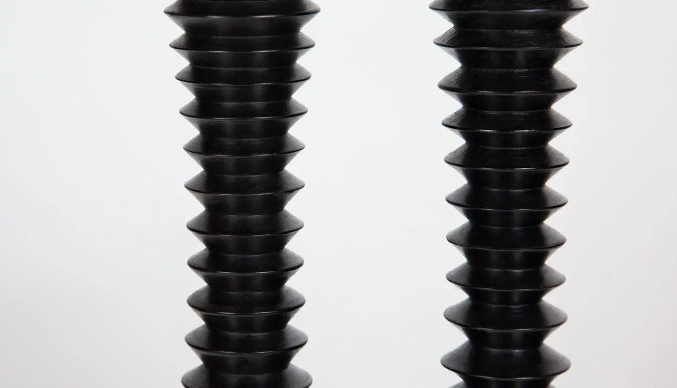 turned-wood-black-candlesticks