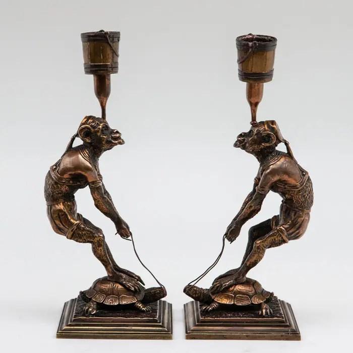 monkey candlesticks