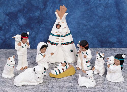 http://www.southwestindian.com/prod/Indian-Nativity-Set.cfm