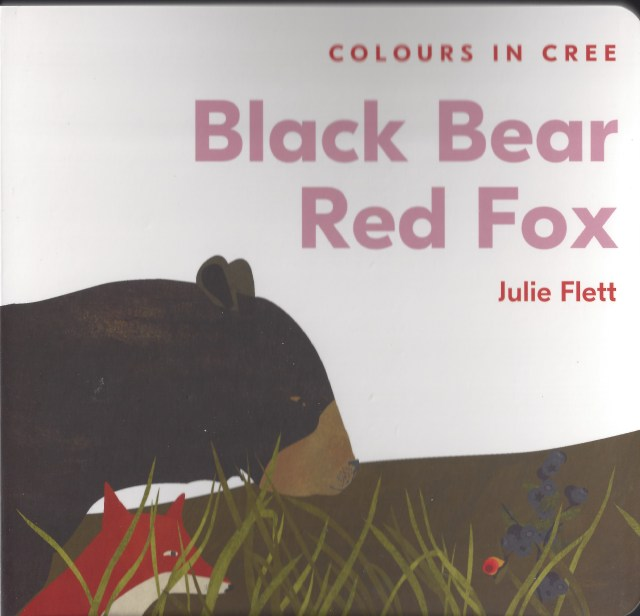 Black Bear Red Fox: Colours in Cree Image