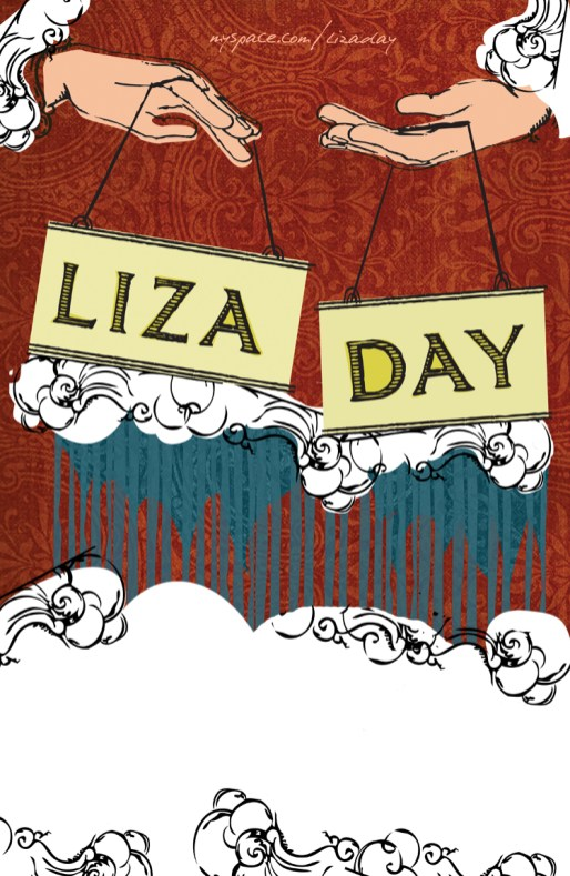 Tour poster for Liza Day.
