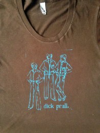 T-shirt design for singer, Dick Prall.