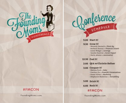 The Founding Moms Conference Laminate