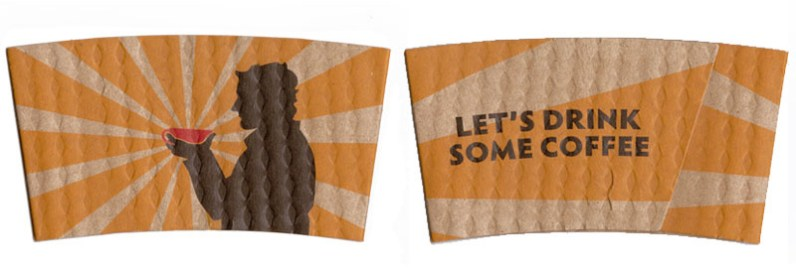 Seattle Coffee Works Cup Sleeve