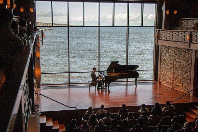 un récital de piano