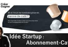 abonnement-café créer Gagner