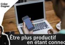 entrepreneur connecté productif