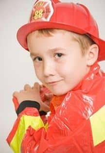 enfant pompier