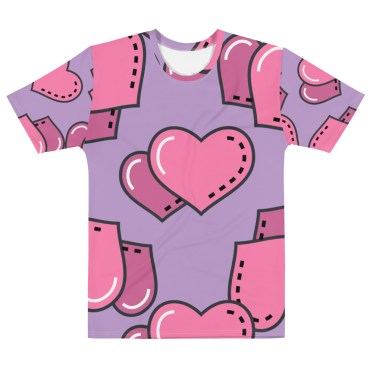t shirt personnalisable fullprint saint valentin 2-2