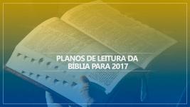 Planos de Leitura da Bíblia para 2017