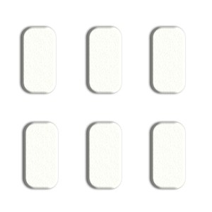 6 REPLACEMENT PADS FOR POWER PAD