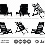 Beach Chair Svg Beach Chair Cut Files Beach Umbrella Beach Chair With Umbrella Crella