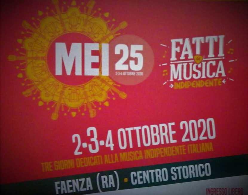Musica MEI25 2020 Faenza