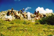 Excursiones, Pico Cerroso, placa a los difuntos del avión estrellado