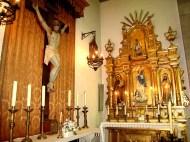 12 agosto 2008 Altares con sus sagrarios del Crucificado y la Inmaculada