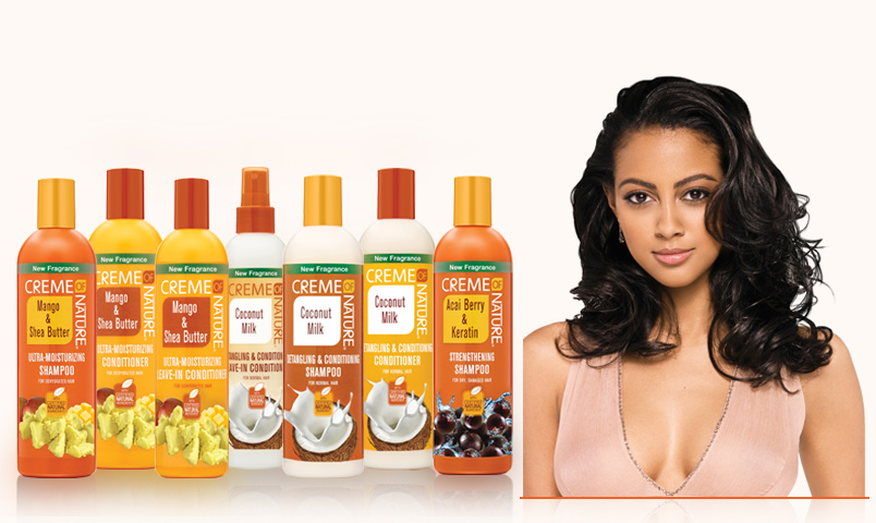 Creme Of Nature Hair Care Products Argan Oil Products