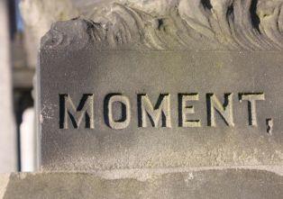 Moment- Glasgow Necropolis