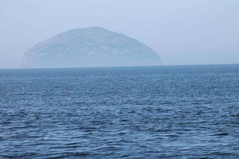 Ailsa Craig, home of granite curling stones