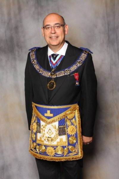 Ian Chandler Surrey Provincial Grand Master