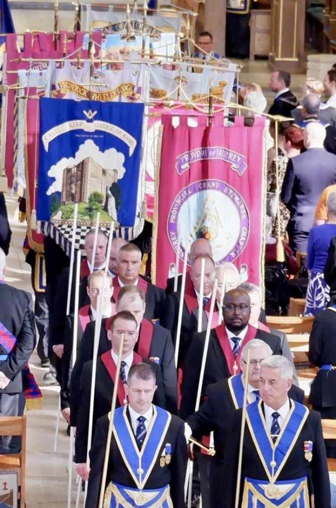 Masonic Banners Guildford Cathedral