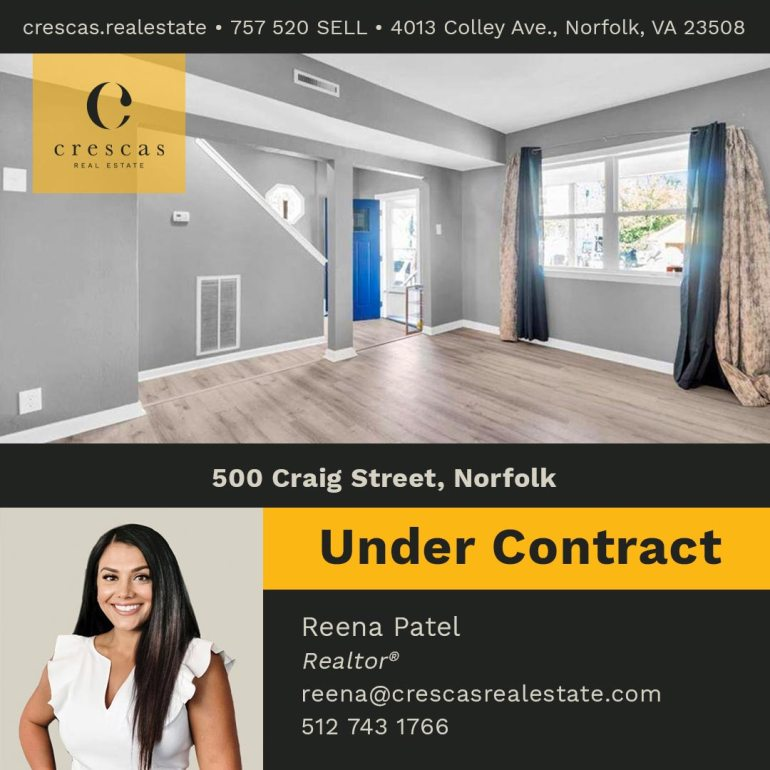 500 Craig Street Norfolk - Under Contract