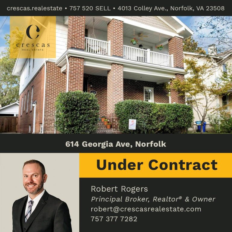 614 Georgia Ave Norfolk - Under Contract