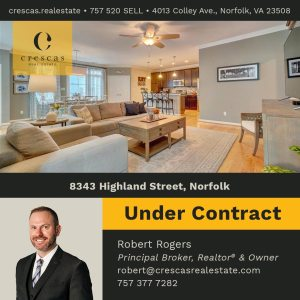 8343 Highland Street Norfolk - Under Contract