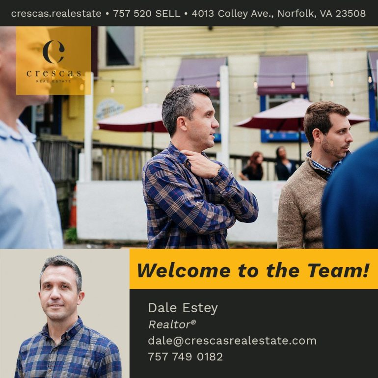 Welcome To The Team - Dale Estey