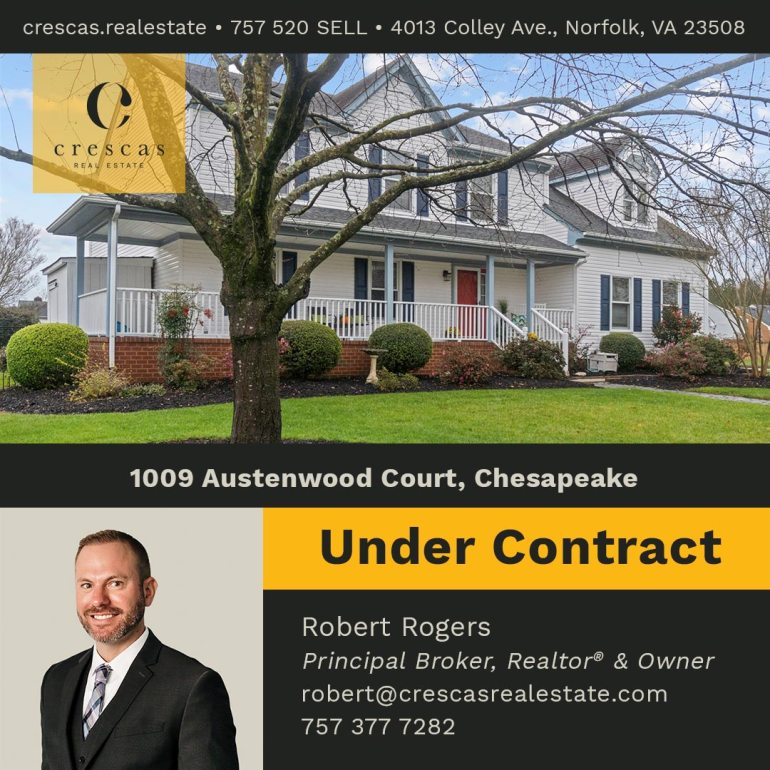 1009 Austenwood Court Chesapeake - Under Contract