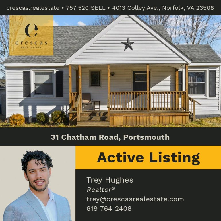 31 Chatham Road Portsmouth - Active Listing