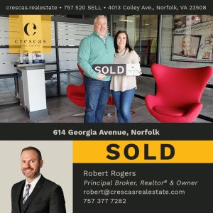 614 Georgia Avenue Norfolk - Sold